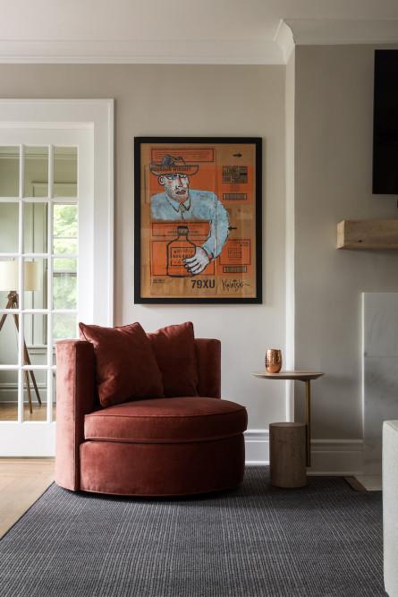 campbell-minister-design-montclair-nj-red-velvet-accent-chair-2