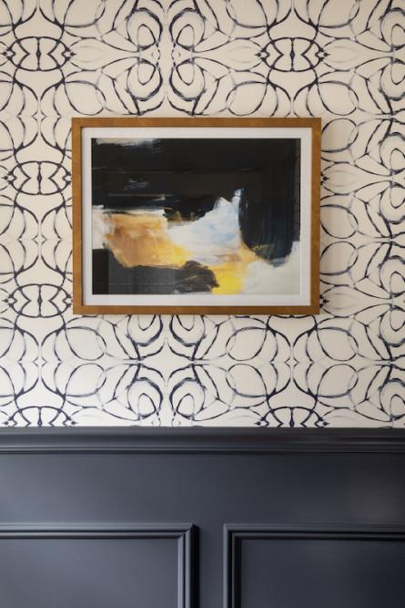 glen-ridge-nj-bathroom-design-navy-cream-wallpaper