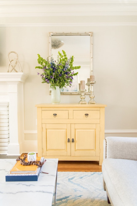 pale-yellow-side-table-living-room-interior-design